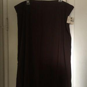 Dresses & Skirts - Dark brownish skirt NEW